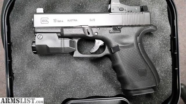 ARMSLIST - For Trade: Gen 4 Glock 19 MOS