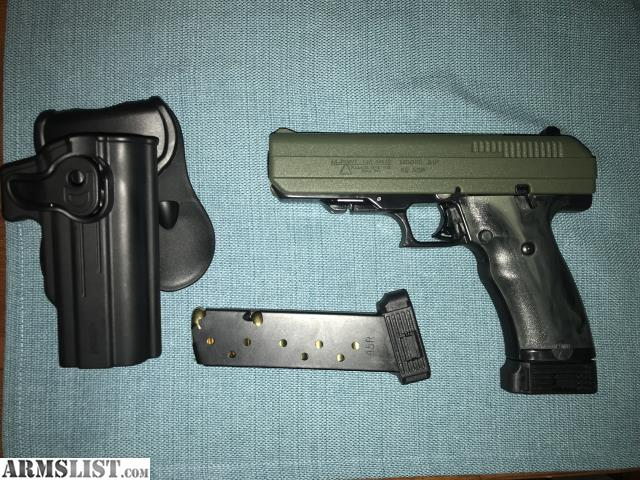 ARMSLIST - For Sale: Hi Point 45 JHP OD Green and camo grips
