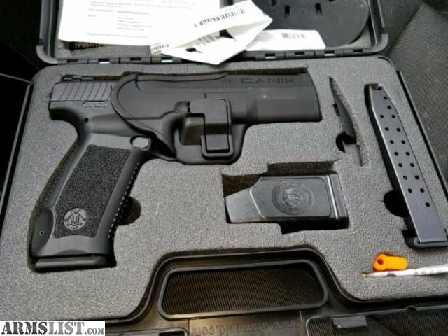 ARMSLIST - For Sale: CANIK tp9SF fs/ft