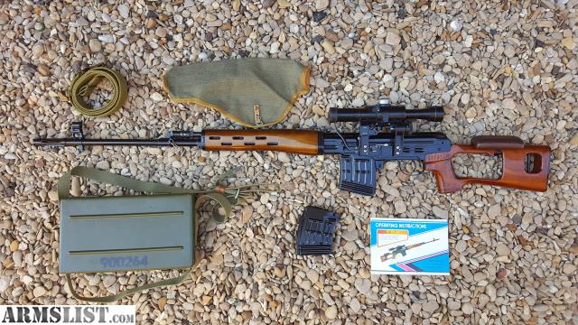 ARMSLIST - For Sale: Norinco NDM-86 Dragunov SVD 7.62x54r