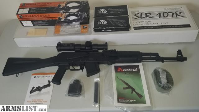 Armslist For Sale Trade Ak Operators Unions Recon Optic