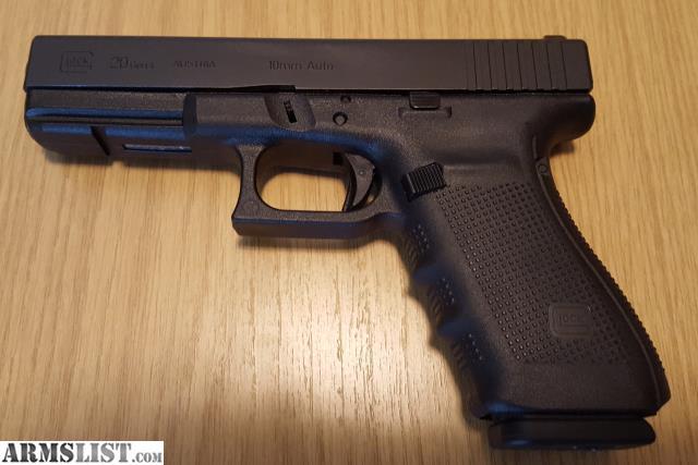ARMSLIST - For Sale: Glock 20 Gen 4