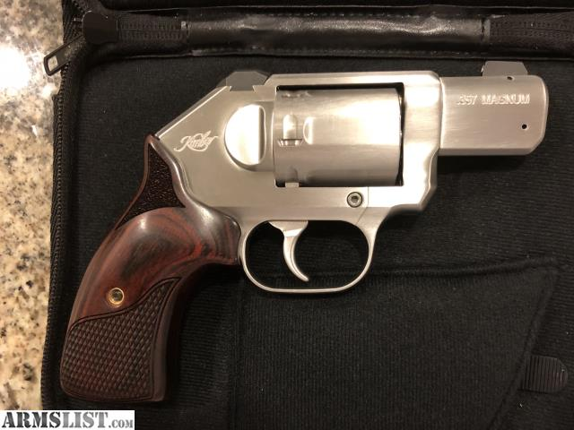 ARMSLIST - For Sale: FS: Kimber K6s  357 Revolver w/night sights and