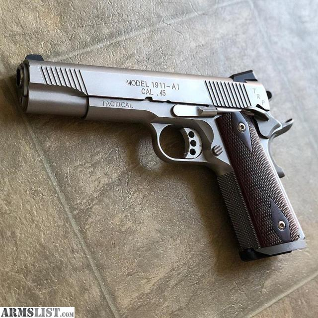 ARMSLIST - For Sale: Springfield Armory 1911 TRP Stainless