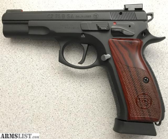 ARMSLIST - For Sale/Trade: LNIB CZ 75B Single Action Custom