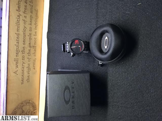 armslist for saletrade oakley watch