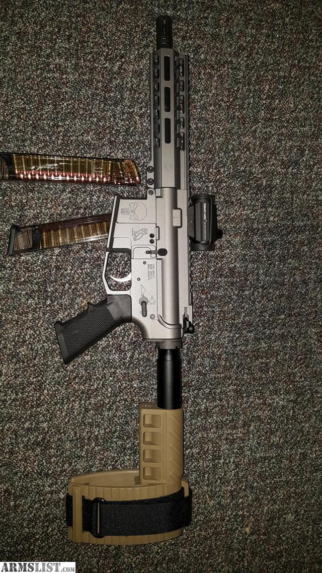 ARMSLIST - For Sale: Custom Ar9 9mm pistol ar glock magazines