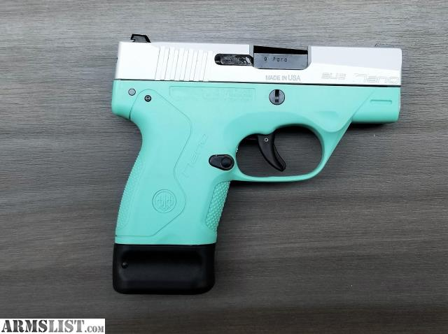 Armslist for sale nib beretta nano robin 39 s egg blue for Golden nugget pawn jewelry holiday fl