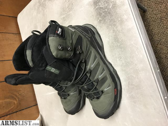 best service 2b6d2 7a1f9 ARMSLIST - For Sale: Salomon X Ultra Winter CS WP