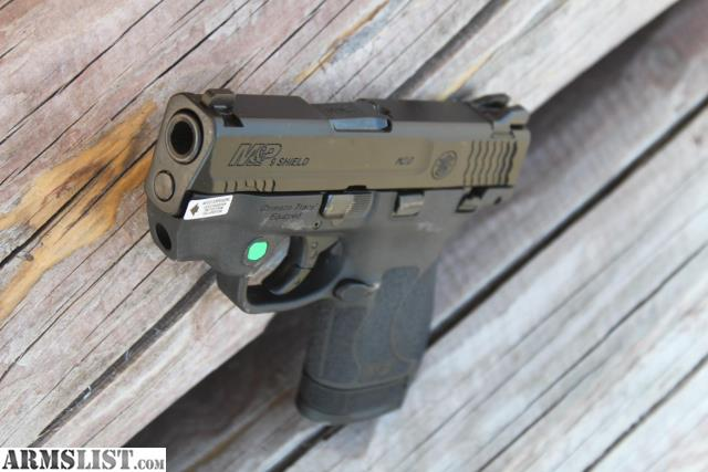 Armslist For Sale S Amp W Shield 2 0 Green Laser 9mm