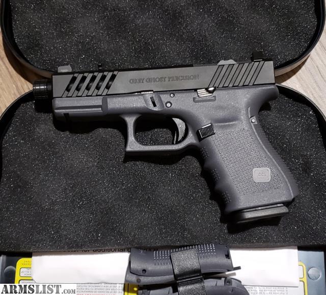 ARMSLIST - For Sale/Trade: Grey Ghost Precision Glock 19 Gen