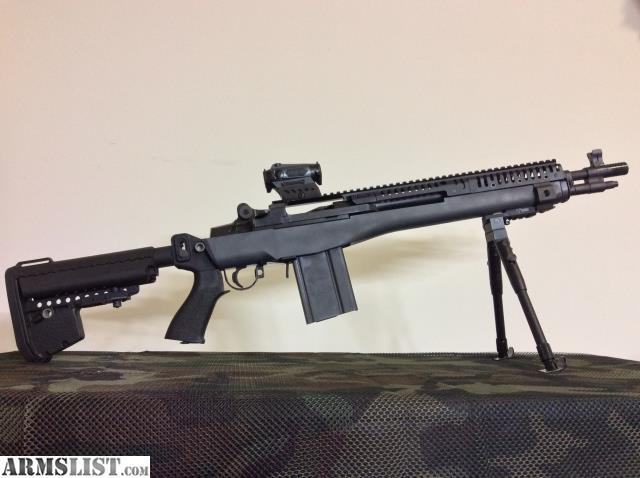 ARMSLIST - For Sale: M1A / M14 Socom 16 VLTOR