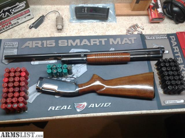 ARMSLIST - For Sale/Trade: 1957 Winchester Model 12 (Slam Fire)