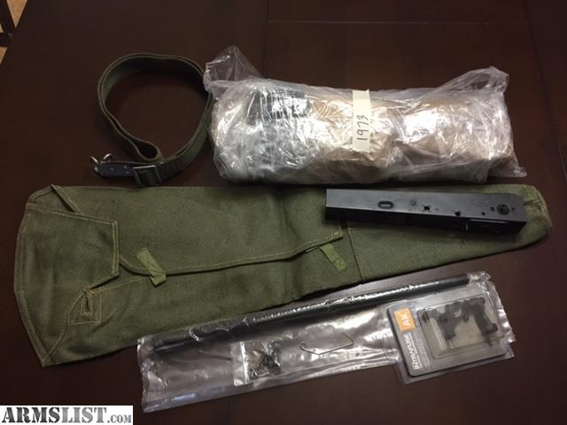 ARMSLIST - For Sale: AK 47 Polish Underfolder Parts kit with barrel