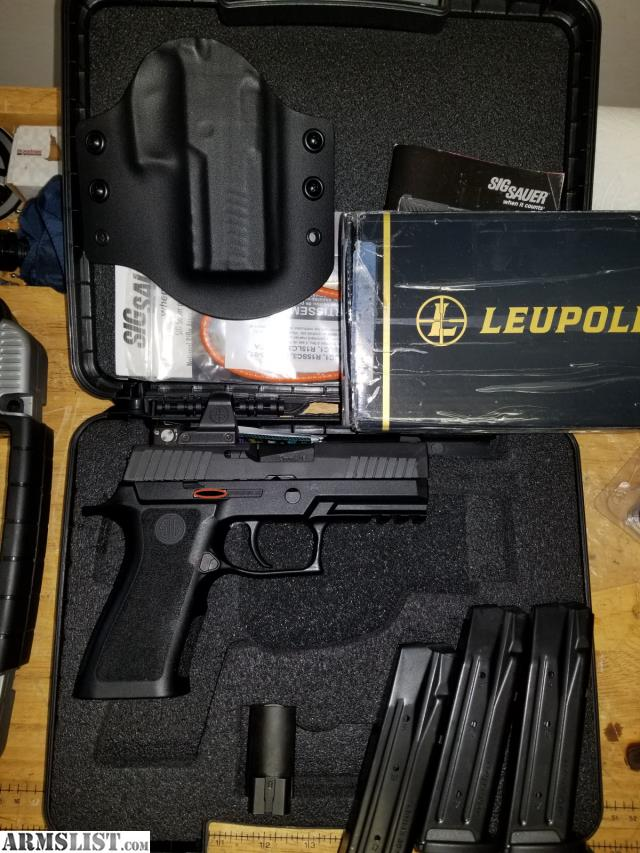 ARMSLIST - For Sale: Sig Sauer P320 X-Carry w/ Leupold