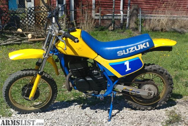 How fast does a suzuki ds 80 go - answers.com