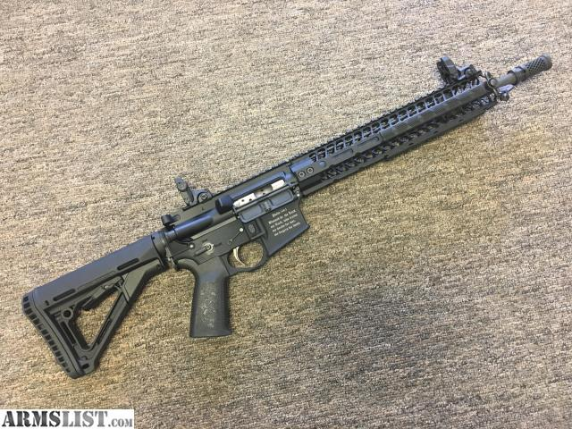 ARMSLIST - For Sale: Spike's Tactical ST-15 Crusader Rifle Used AR15