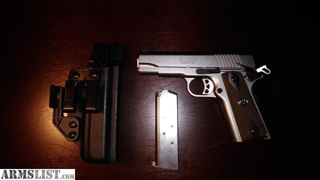 Armslist For Sale Ruger Sr1911 Cmd With Jm Custom Kydex Wing Claw