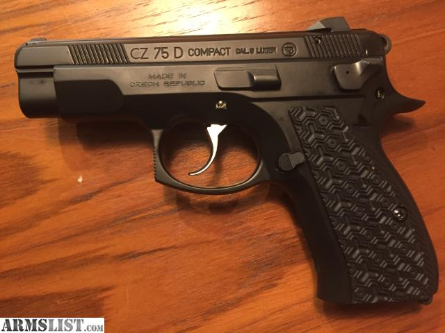 ARMSLIST - For Sale: CZ 75 D PCR Compact