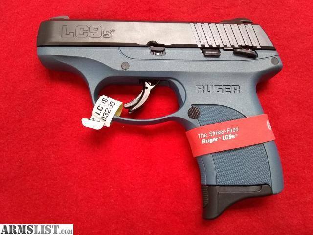 Description: RUG LC9S 9MM PST B 7R TTNM CER Brand: Ruger Model: LC9s Blue Titanium Type: Pistol: Semi-Auto Caliber: 9MM Finish: Blue