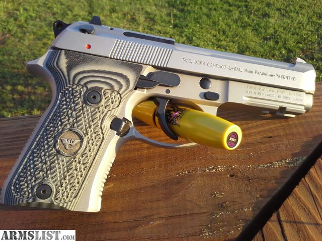ARMSLIST - For Trade: Beretta 92A1 INOX Compact Wilson