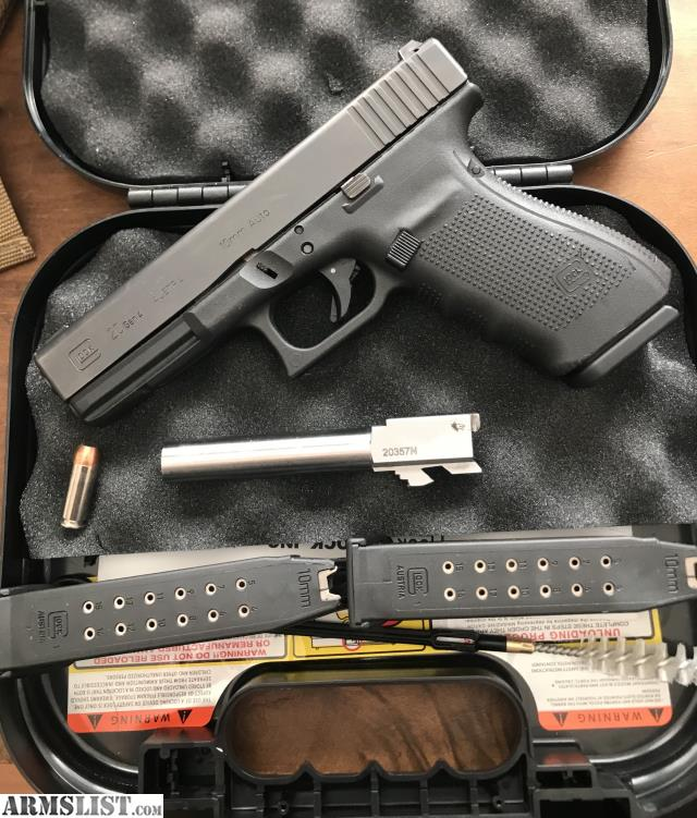 ARMSLIST - For Sale/Trade: GEN 4 GLOCK 20 (10MM) WITH WOLF