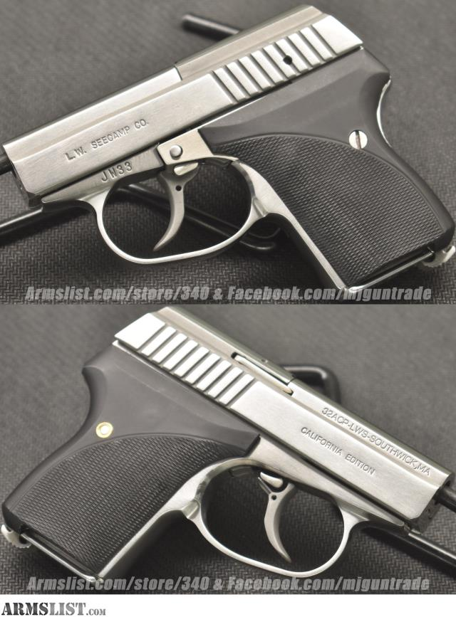 ARMSLIST - For Sale: NEW Seecamp LWS 32 in  32ACP