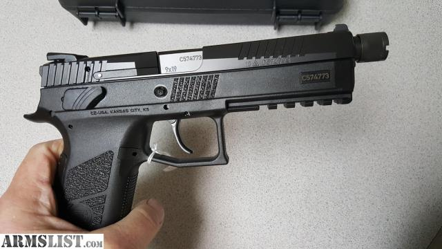 ARMSLIST - For Sale: CZ P09 CS TB 19RD NIB