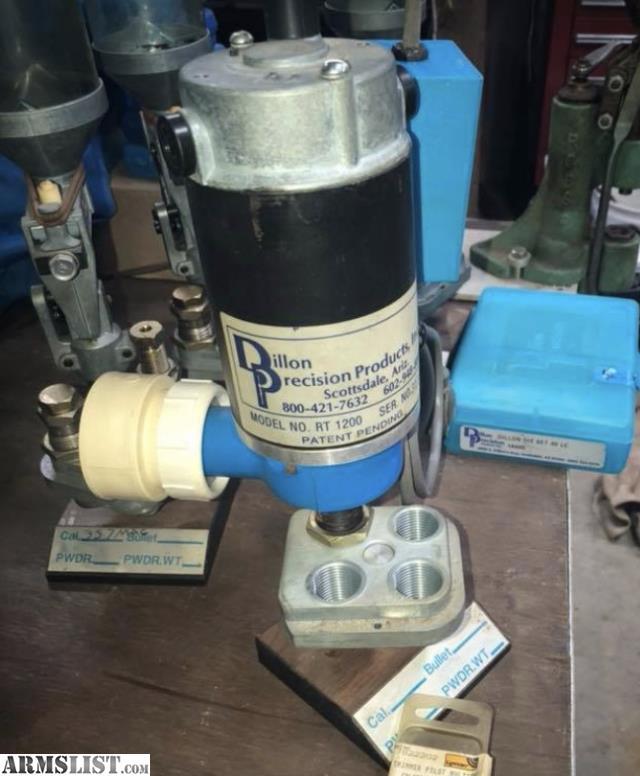 ARMSLIST - For Sale: Dillon 550 RT 1200 case trimmer