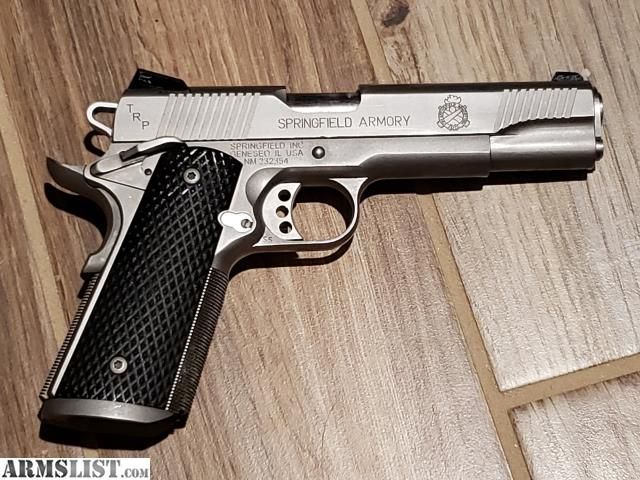 ARMSLIST - For Sale/Trade: Springfield 1911 TRP Stainless 45 ACP