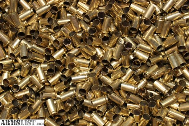 ARMSLIST - For Sale: 3000 9mm brass and 1000 bullets REDUCED