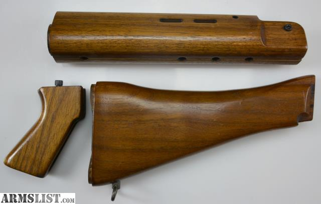 ARMSLIST - For Sale: FN FAL Wood Stock Furniture Set, Inch Pattern