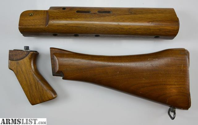 ARMSLIST - For Sale: L1A1 FAL Wood Stock Furniture Set, Inch