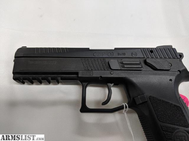 ARMSLIST - For Sale: Used CZ P-09 w/ CZC mag well