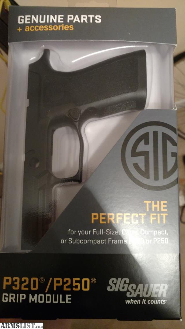 ARMSLIST - For Sale/Trade: Sig P320 Xcarry Grip Module