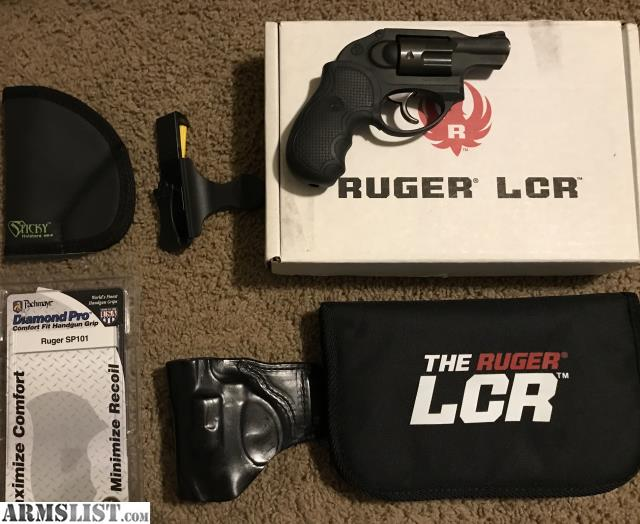 ARMSLIST - For Sale: Ruger LCR 357 plus Extras!!!