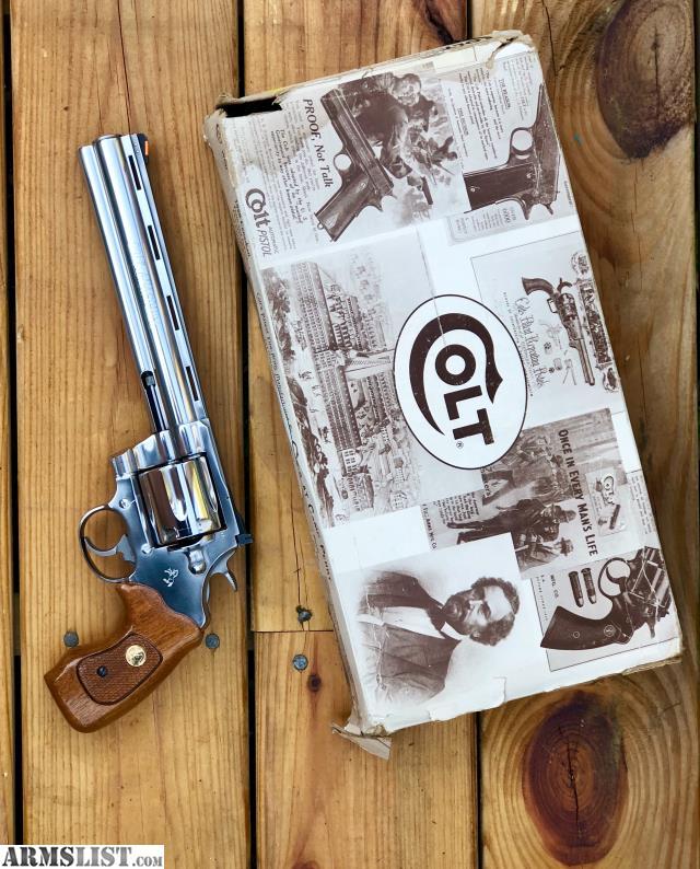 ARMSLIST - For Sale/Trade: Colt Anaconda 8 inch barrel
