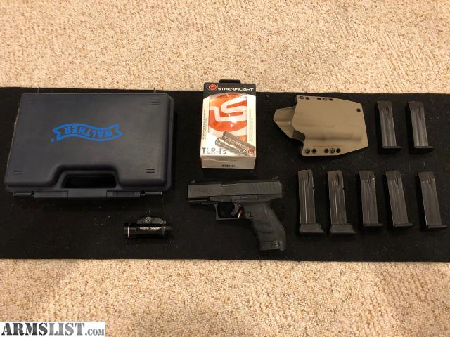 ARMSLIST - For Sale: Walther PPQ M2 9mm with 7 mags, holster