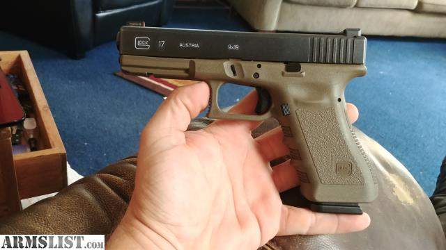 ARMSLIST - For Sale/Trade: LNIB GLOCK 17 GEN3 OD GREEN 9MM