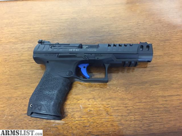 ARMSLIST - For Sale: Walther PPQ Q5 Competition