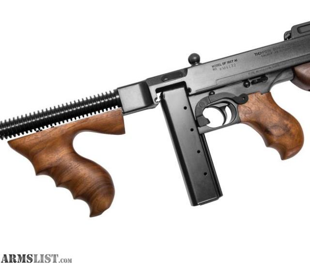 "b244a86ddc4fe Direct from Chicago right to your collection – The Thompson 1927A-1  ""Chicago Typewriter""!"