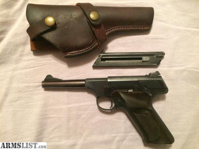 ARMSLIST - For Sale: Colt woodsman  22 2nd series 4