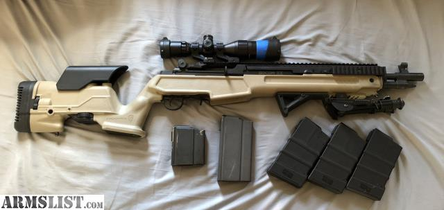 ARMSLIST - For Sale/Trade: Springfield M1A SOCOM II extended