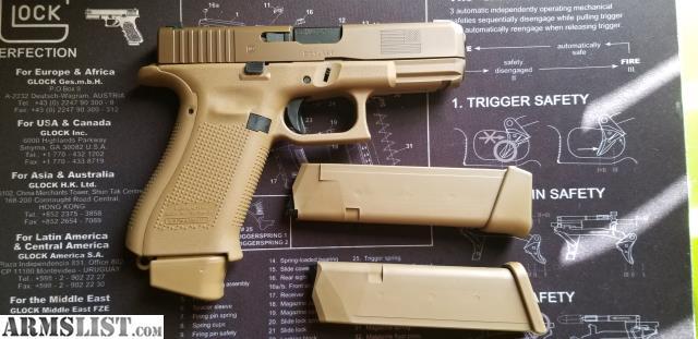 ARMSLIST - For Sale: Lnib glock 19x