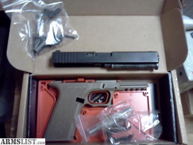 ARMSLIST - For Sale: Complete Poly 80 Glock 23 80% kit