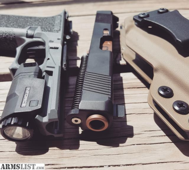 ARMSLIST - For Sale/Trade: P80/glock 19 kit