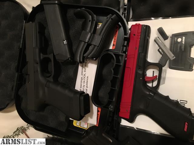 ARMSLIST - For Sale: Sig Legion P226 SAO, Glock 17 MOS, 17