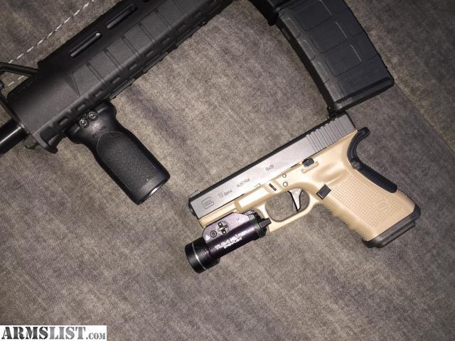 ARMSLIST - For Trade: Glock 19 Gen 4+ light combo