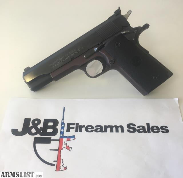 ARMSLIST - For Sale: Para Ordnance / Colt Gold Cup Slide Double ...