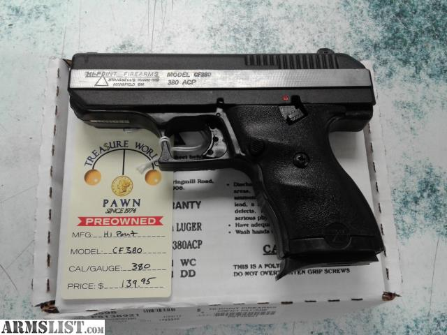 ARMSLIST - For Sale: HI-POINT CF380